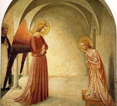 L'annunciazione dell'arcangelo a Maria